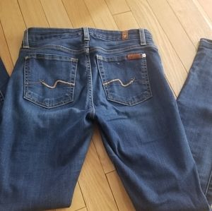 Seven for all mankind jeans size 24